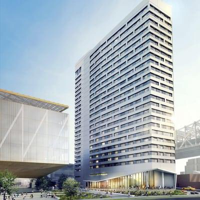 Rise Credit >> CornellTECH NYC Residential Building - Monadnock